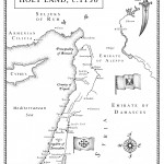 Eagle - Map of Syria and Holy Land
