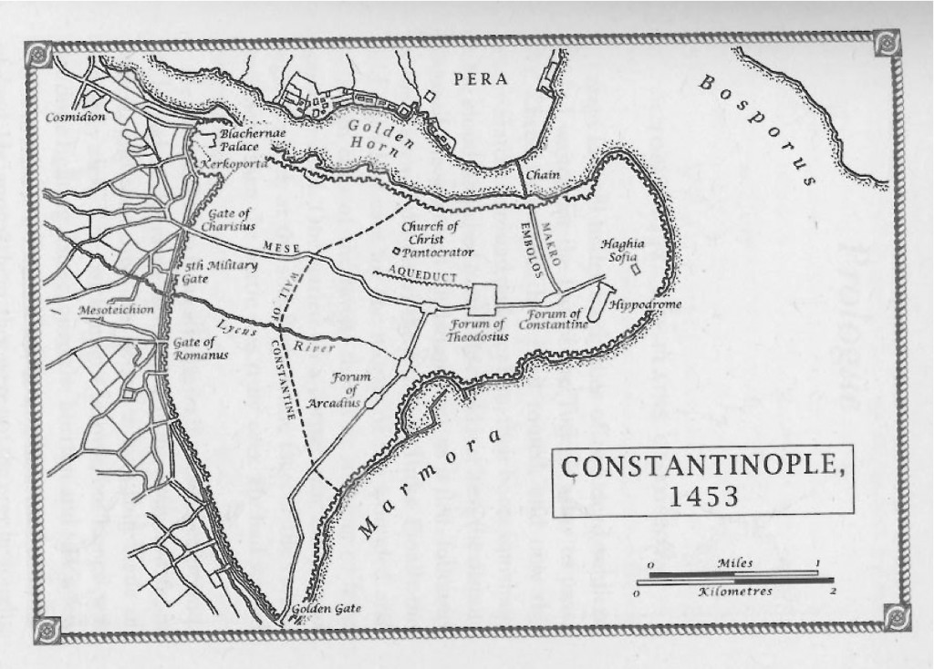 Siege Map - Constantinople